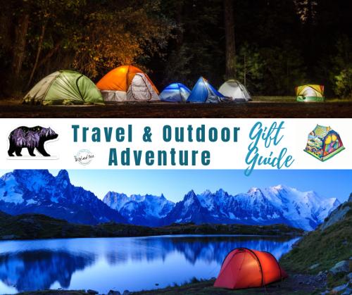Travel & Adventure Gift Guide #giftguide #travelgiftguide #travelgiftideas