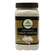Naturevibe Botanicals USDA Organic Garlic Ground Powder, 1 Pound | Raw, Gluten-Free & Non-GMO | Healthy Spice | Adds Flavor and Taste