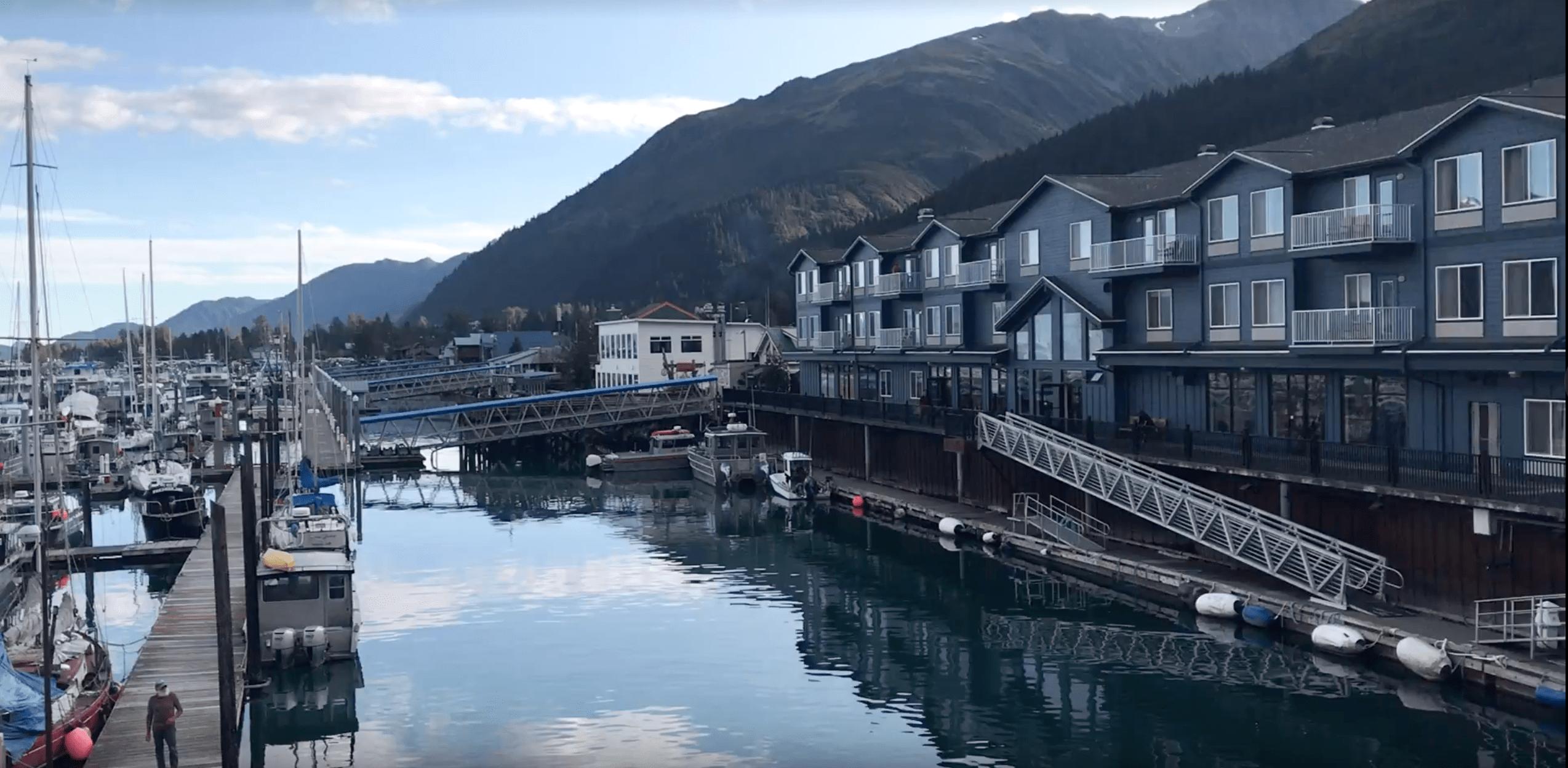 Harbor 360 Hotel in Seward, Alaska is the perfect place to stay right on the water #sewardaalaska #alaska #travelalaska