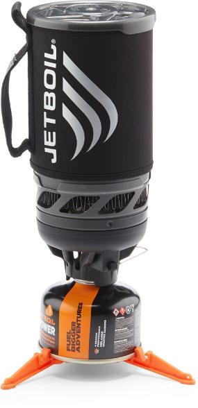 Winter Camping Essentials starts with being able to boil water in a flash #jetboil #wintercamping #wintersurvival