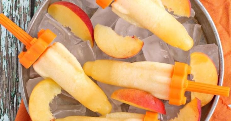 Peach Shinesicles