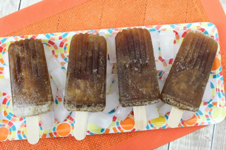 Jack and Coke Boozy Popsicles