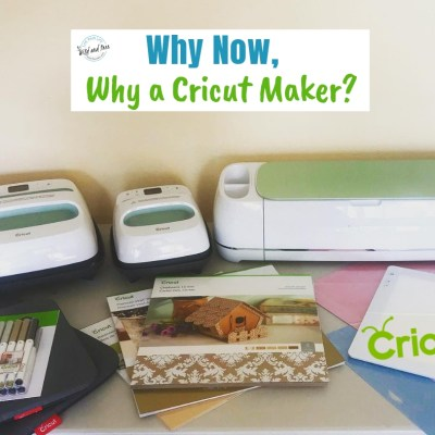 Why Now, Why a Cricut Maker?