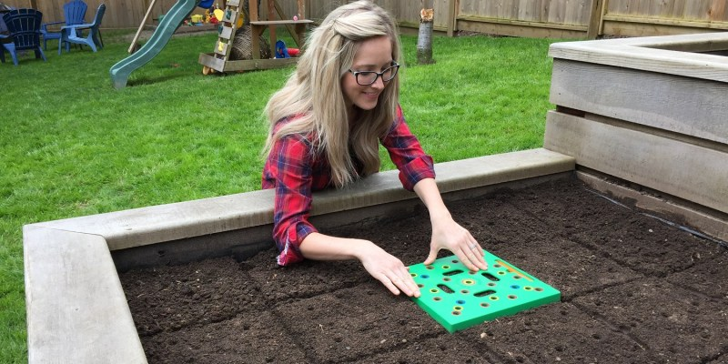 Seed Square for Square Foot Gardening