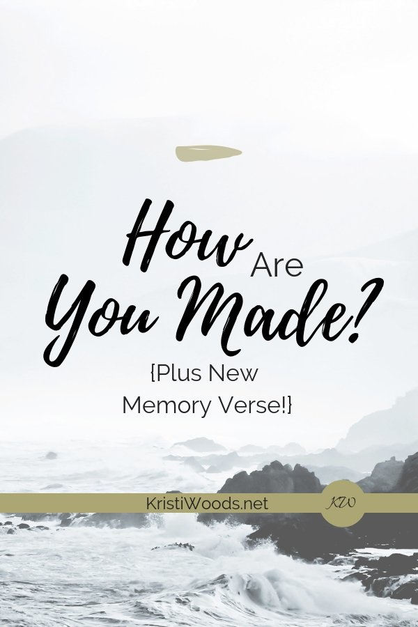 How Are You Made?