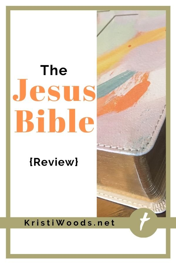 Bible and title of blog post