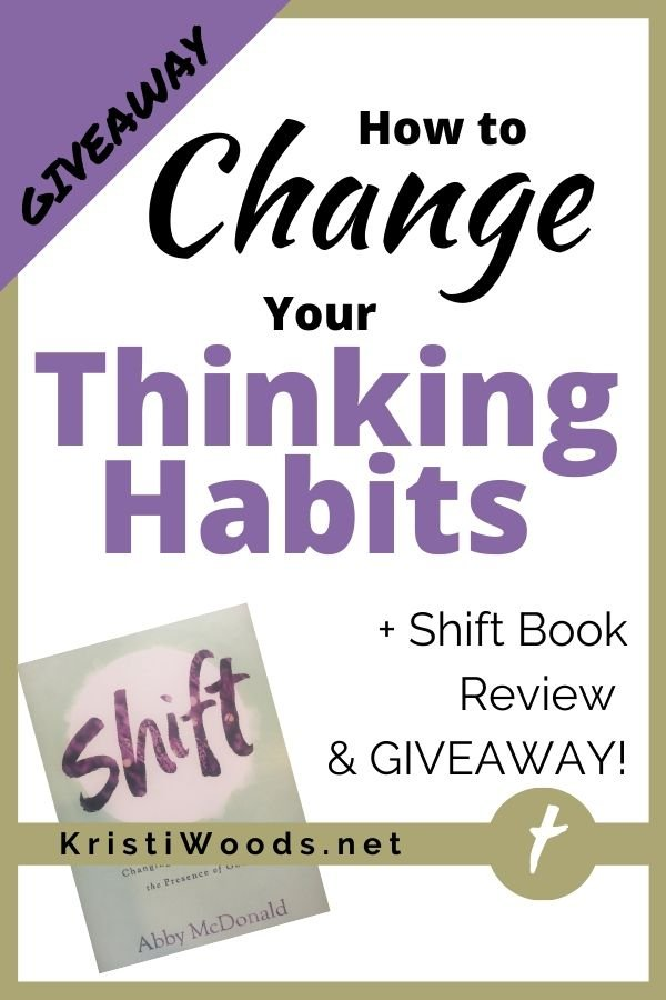 Post title with copy of the Christian nonfiction book Shift
