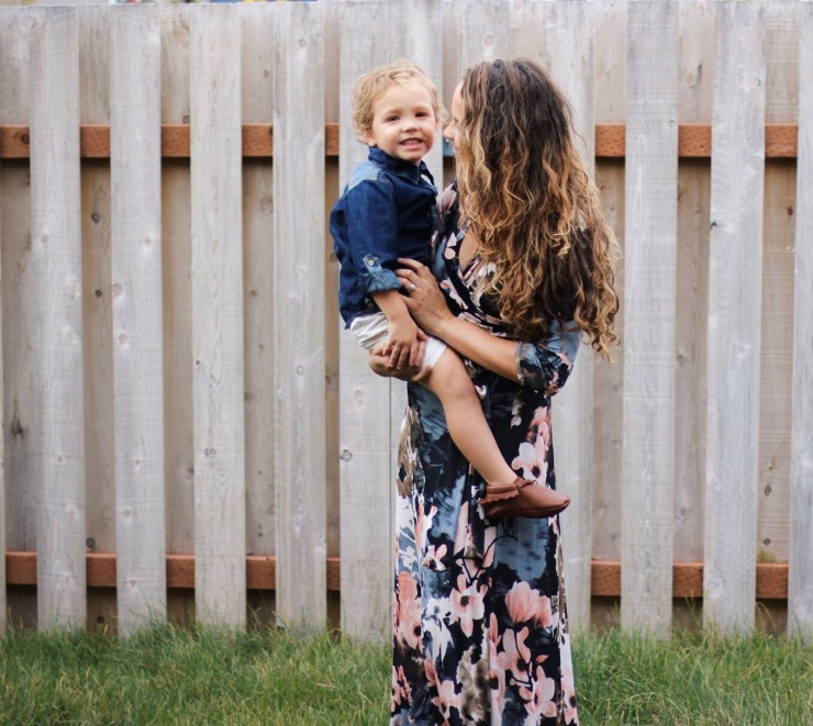 Mama and Son outfits with RuggedButts and PinkBlush
