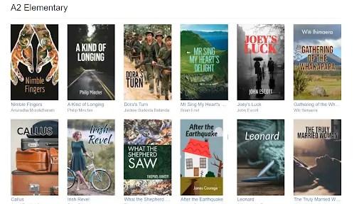English-e-reader graded reader browse books