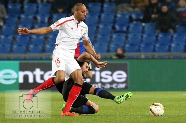 European League 15/16 - FC Basel 1893 vs. FC Sevilla
