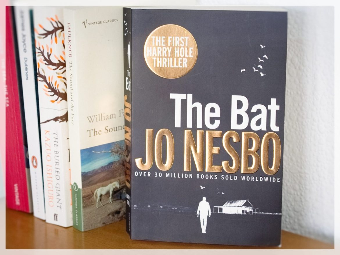 Kristopher Cook - Eclectic Book - The Bat by Jo Nesbo