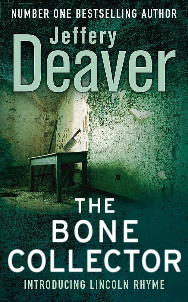The Bone Collector by Jeffery Deaver Book Cover