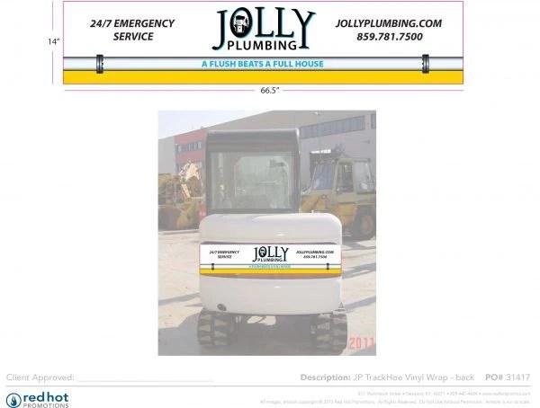 31417 Jolly TrackHoe wrap back 1