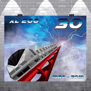 Magnum XL-200 30th Anniversary Poster