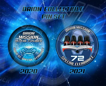 Orion Collectible Pin Set 1