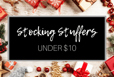 Affordable christmas stocking stuffer ideas for women. Your friend, a teen, a coworker, or your mom, will love these cheap, inexpensive, unique gifts.