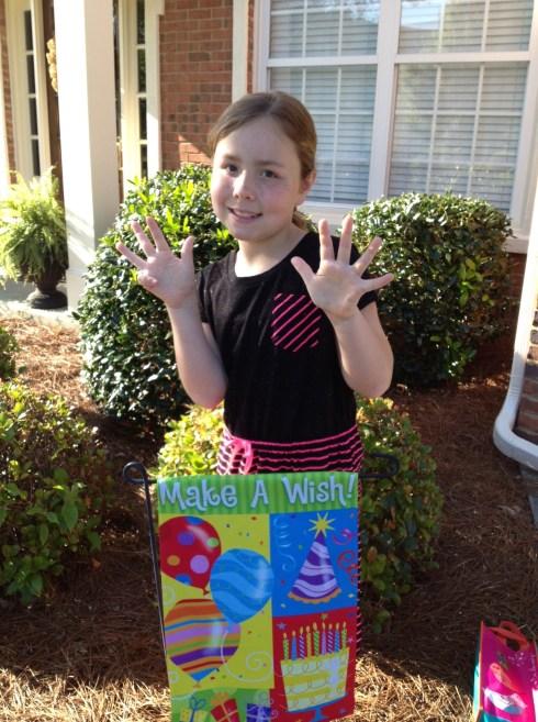 Happy 9th Birthday, Ruby!