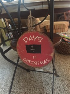 Molly was in charge of this countdown.