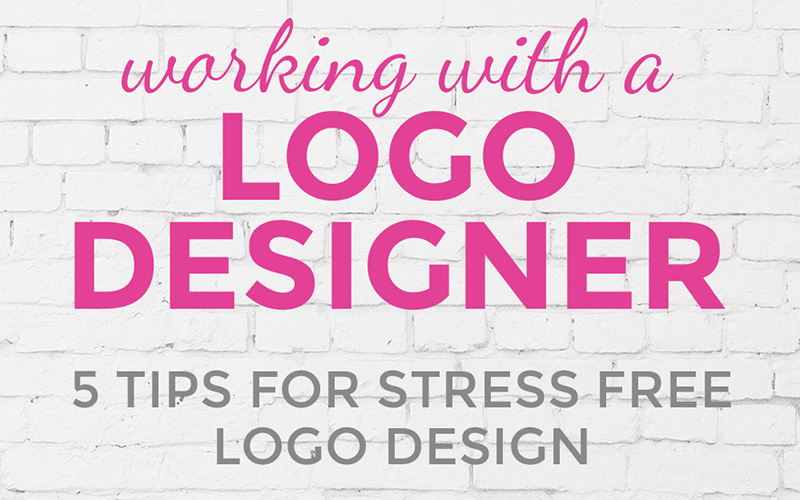 Working with a logo designer: 5 tips for stress-free logo design