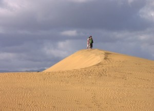 Kristy K. James sand dunes