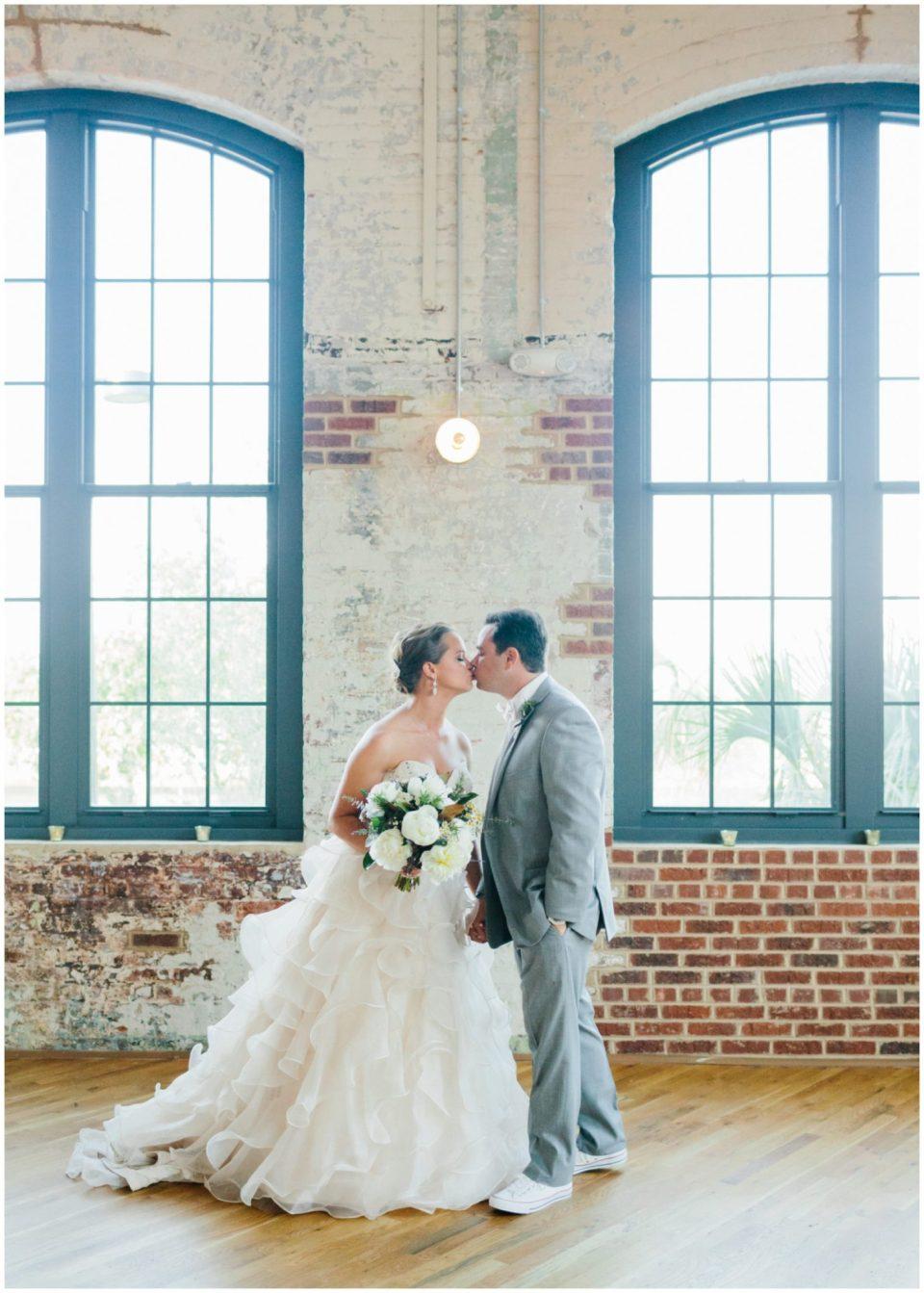 Bride and Groom at The Cedar Room