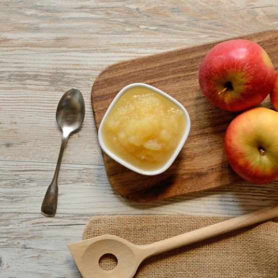 Homemade Canned Applesauce | Kristy's Cottage blog