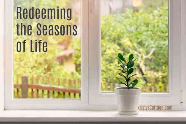 Every Season Offers Her Gifts. Every season is worth redeeming, and appreciating. It's true: we don't always have eyes for the gifts of the seasons.