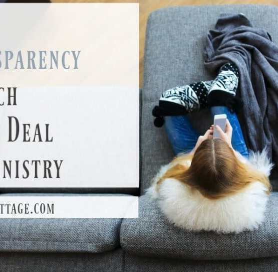 Why Transparency is Such a Big Deal in Ministry | Kristy's Cottage blog