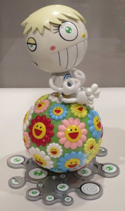 cosmos_ball_by_takashi_murakami_molded_plastic_2000