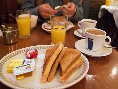 continental breakfast sucks
