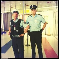 Keine angst, Ich bin Polizist.