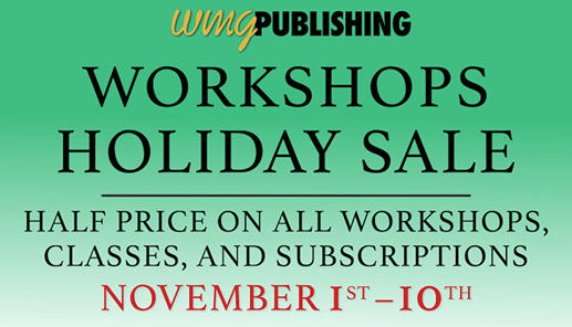 Half Off All Workshops!