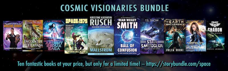 Cosmic Visionaries…and Half-Off