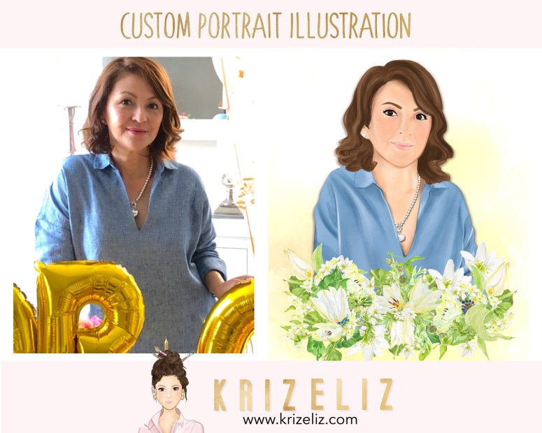 Custom Portrait Jorge