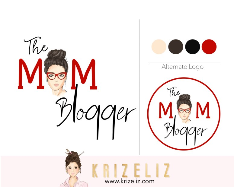 MOM BLOGGER LOGO