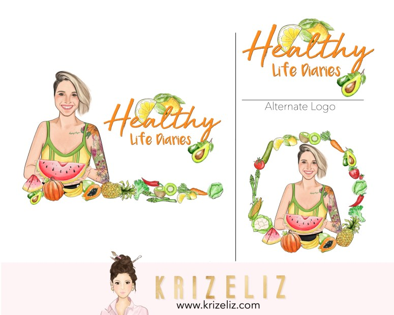 Custom Logo by Kriz Eliz