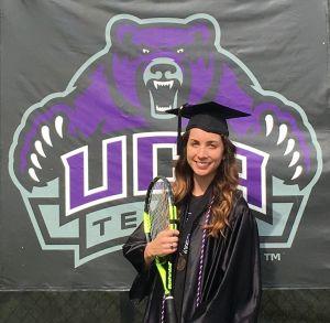 Krizia tennis graduation