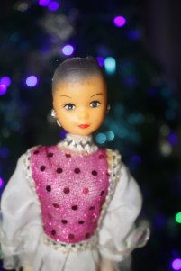 a doll for a bokeh model