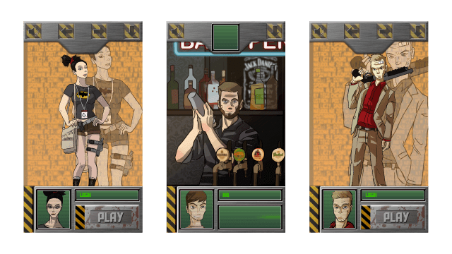 DigitalZombies - screens from game
