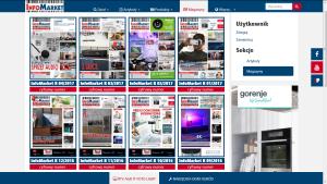 Info Market magazines section