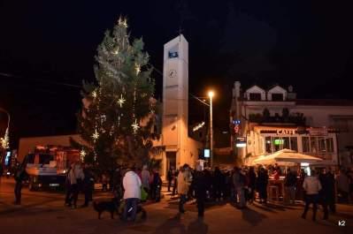 Karácsonyfa Malinskán