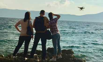 Krk sziget az égből