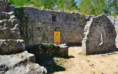 Gradec – a legősibb Frangepán vár romjai