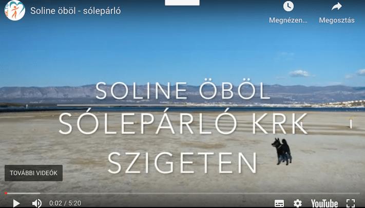 Soline öböl – sólepárló, gyógyiszap