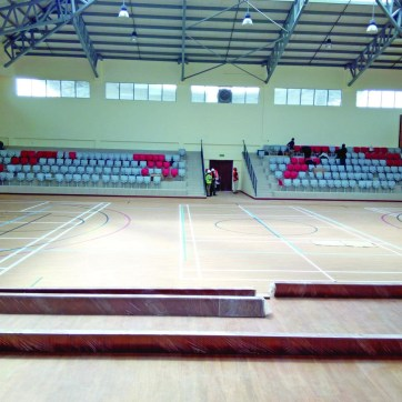 Mpesa Foundation Academy – Indoor Sports Hall – Interiors
