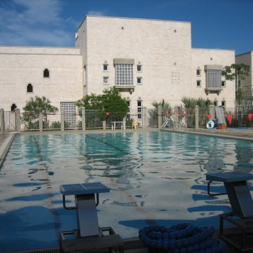 Aga Khan Academy Mombasa, Outdoor Swimming Pool with Bleachers & Multipurpose Hall