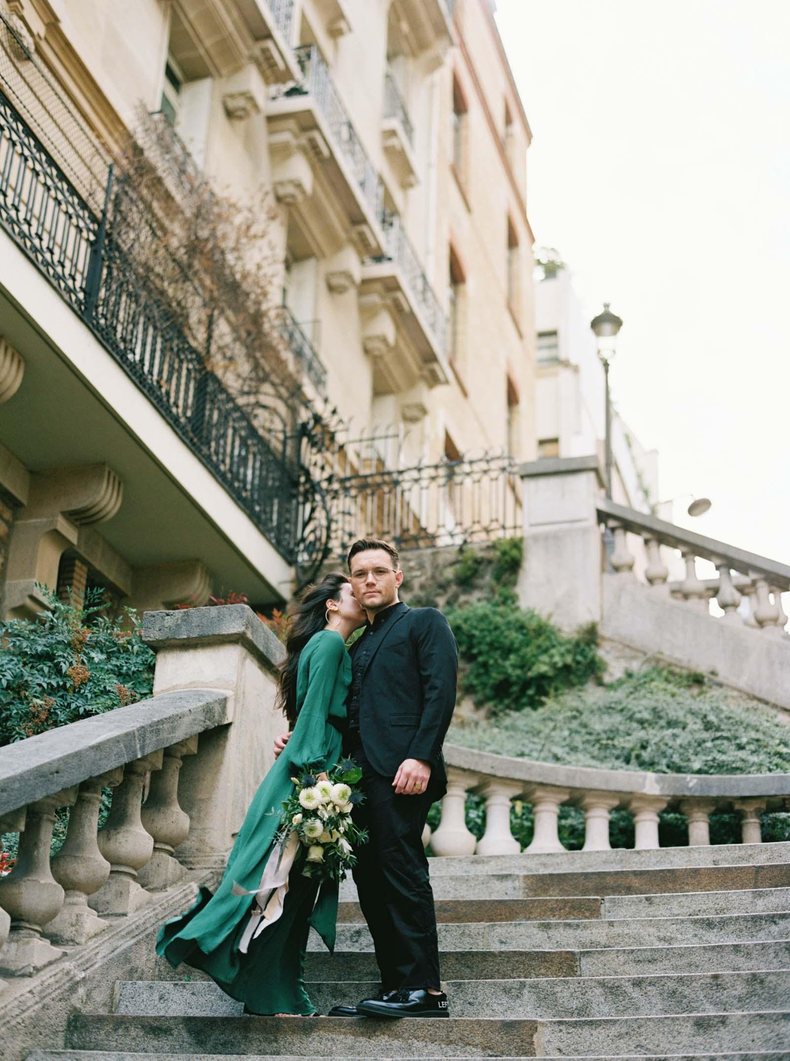 Romantic Engagement Photos - Paris, France - KR Moreno
