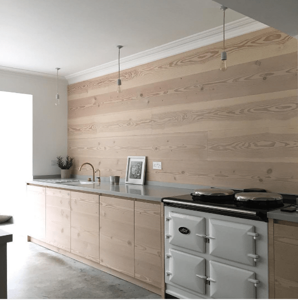 Great use of timber in kitchen - Workshop