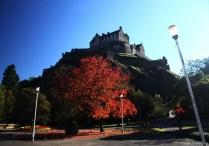 Edinburgh Castle, noch aus letztem Oktober