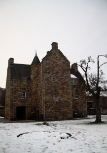 Mary Queen of Scots used to live here at some point.